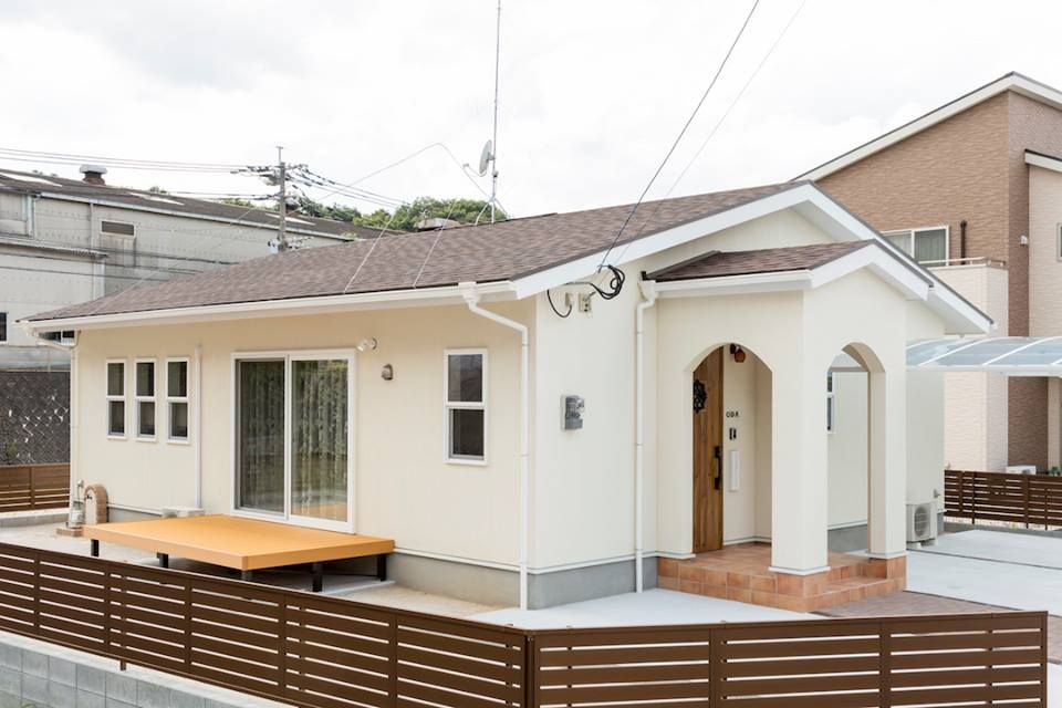 シンプルでかわいい平屋の家 飯塚市 福岡 筑豊で家を建てる 建築工房