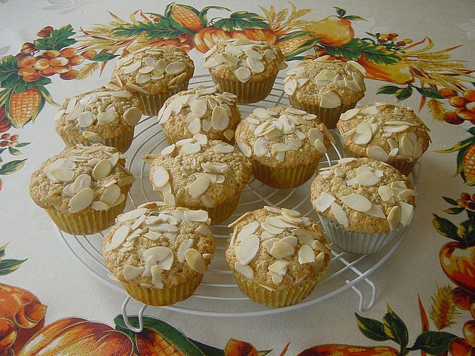 Dattel - Mandel Muffins mit Amaretto Muffin, Backen and Kuchen - chefkoch käsekuchen muffins