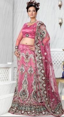 Enigmatic Deep Pink Lehenga Choli