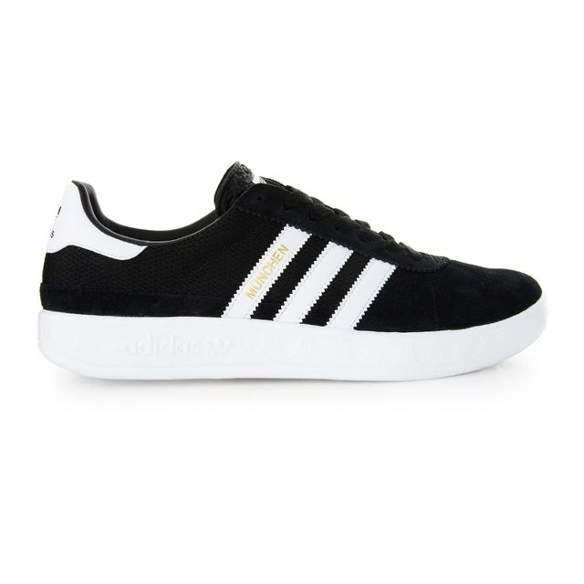women's adidas navy & white hamburg trainers