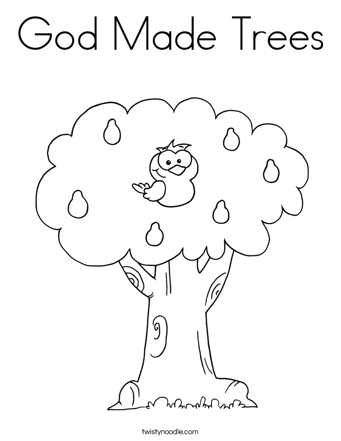 god made me coloring pages - photo#17