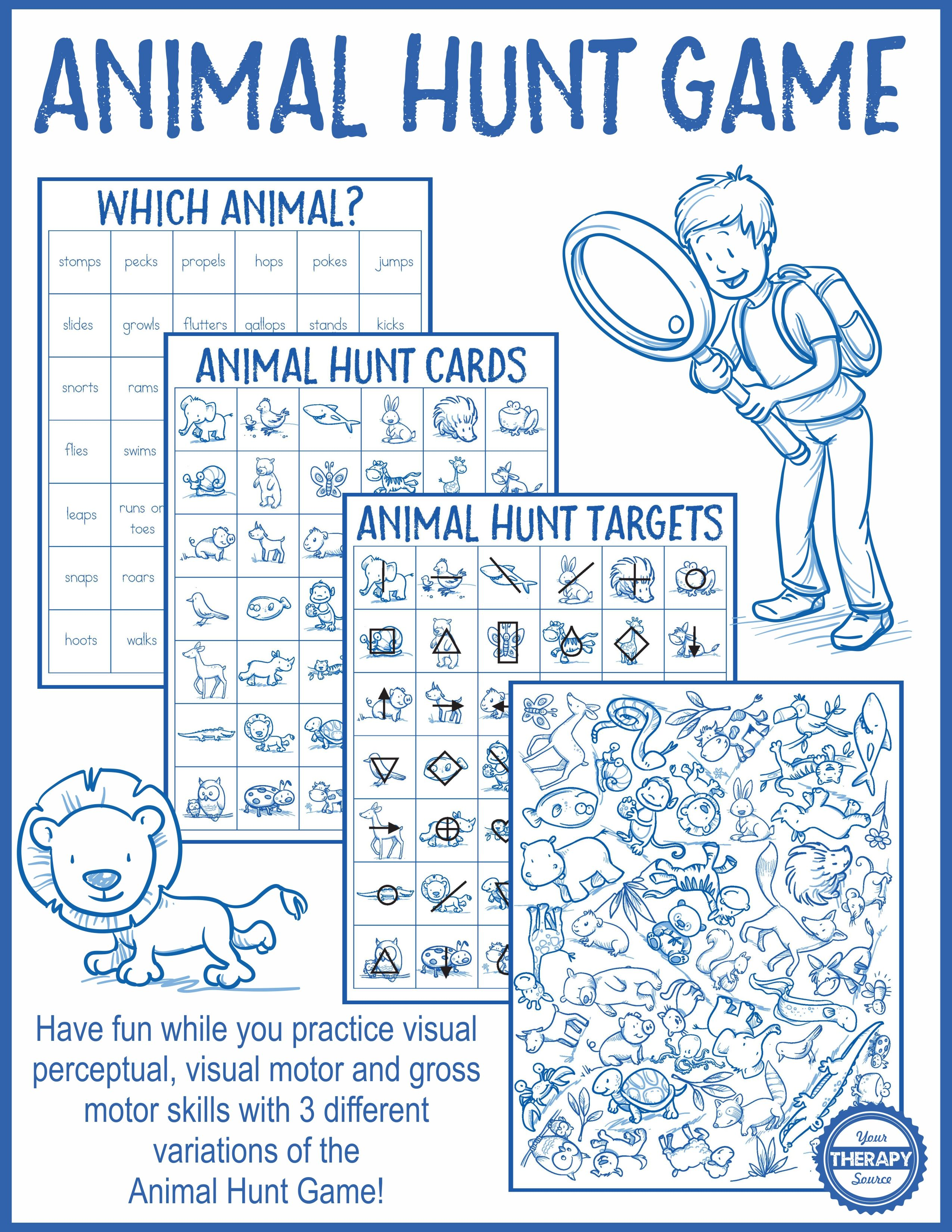 Animal Hunt Game