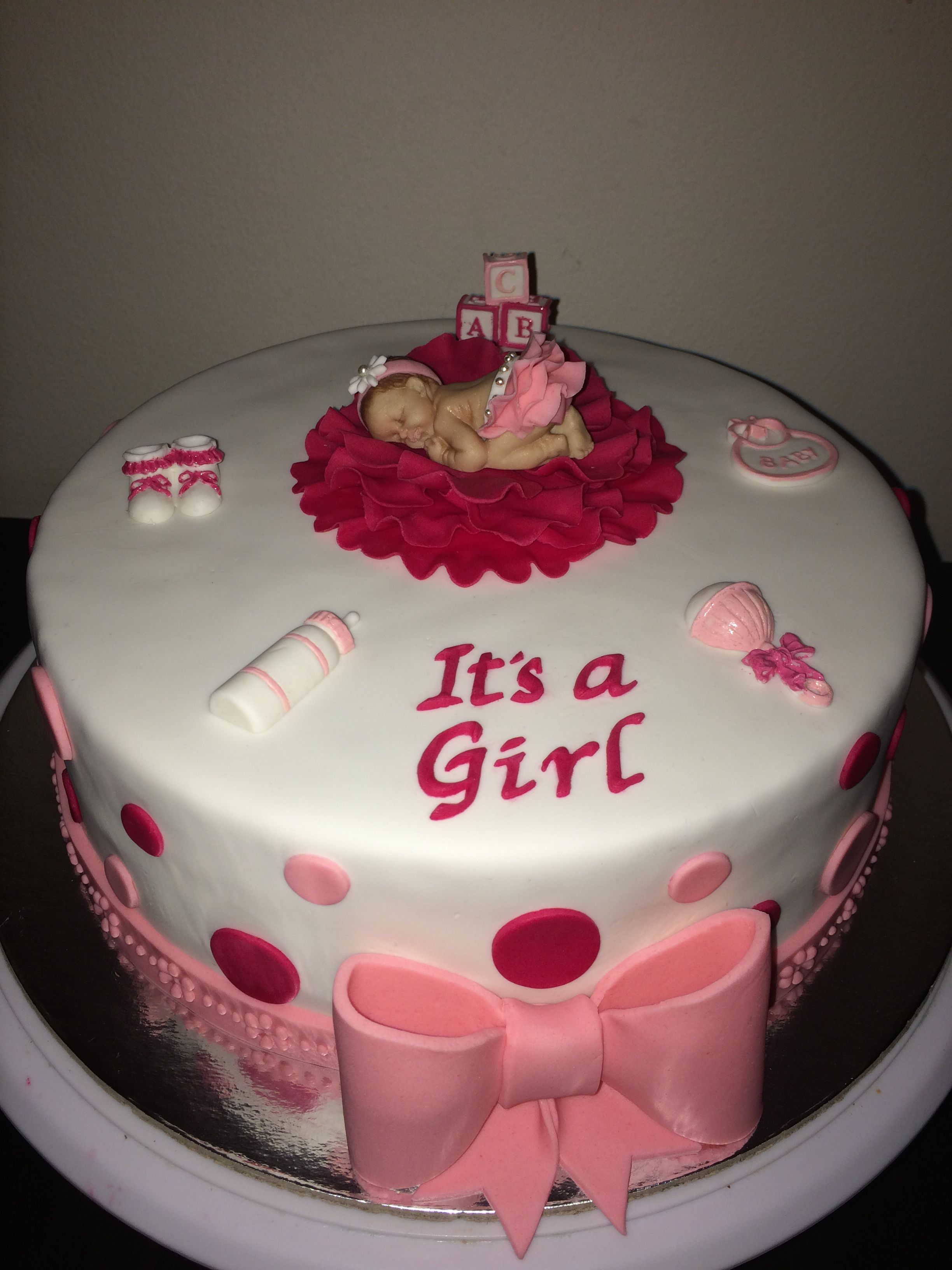 Baby Shower It s a Girl Rowena The Cake Whisperer