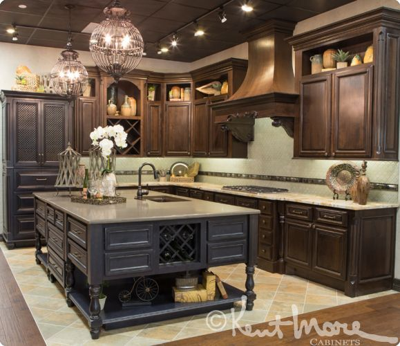 Custom Kitchen Cabinets Houston: Kent Moore Cabinets - Richmond Design Center