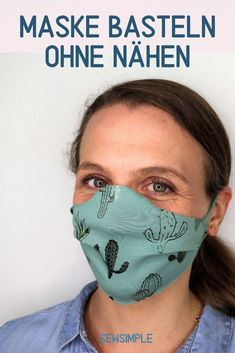 Photo of Maske basteln ohne Nähen: Schnelle Anleitung (2 Minuten)