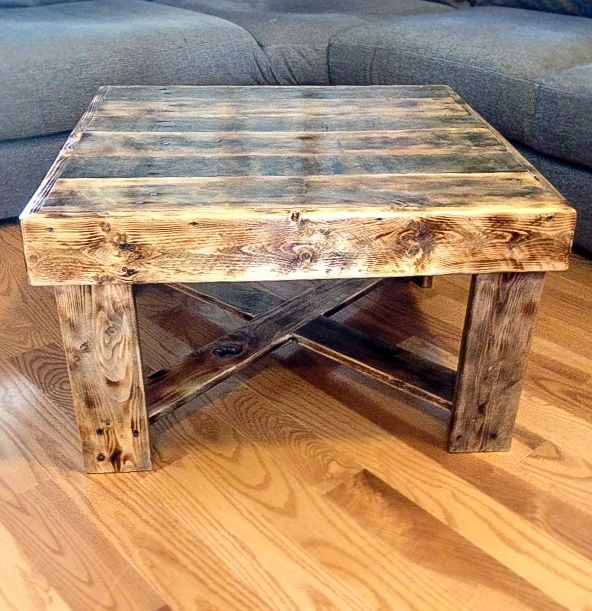 Coffee Tables Made Out Of Wood