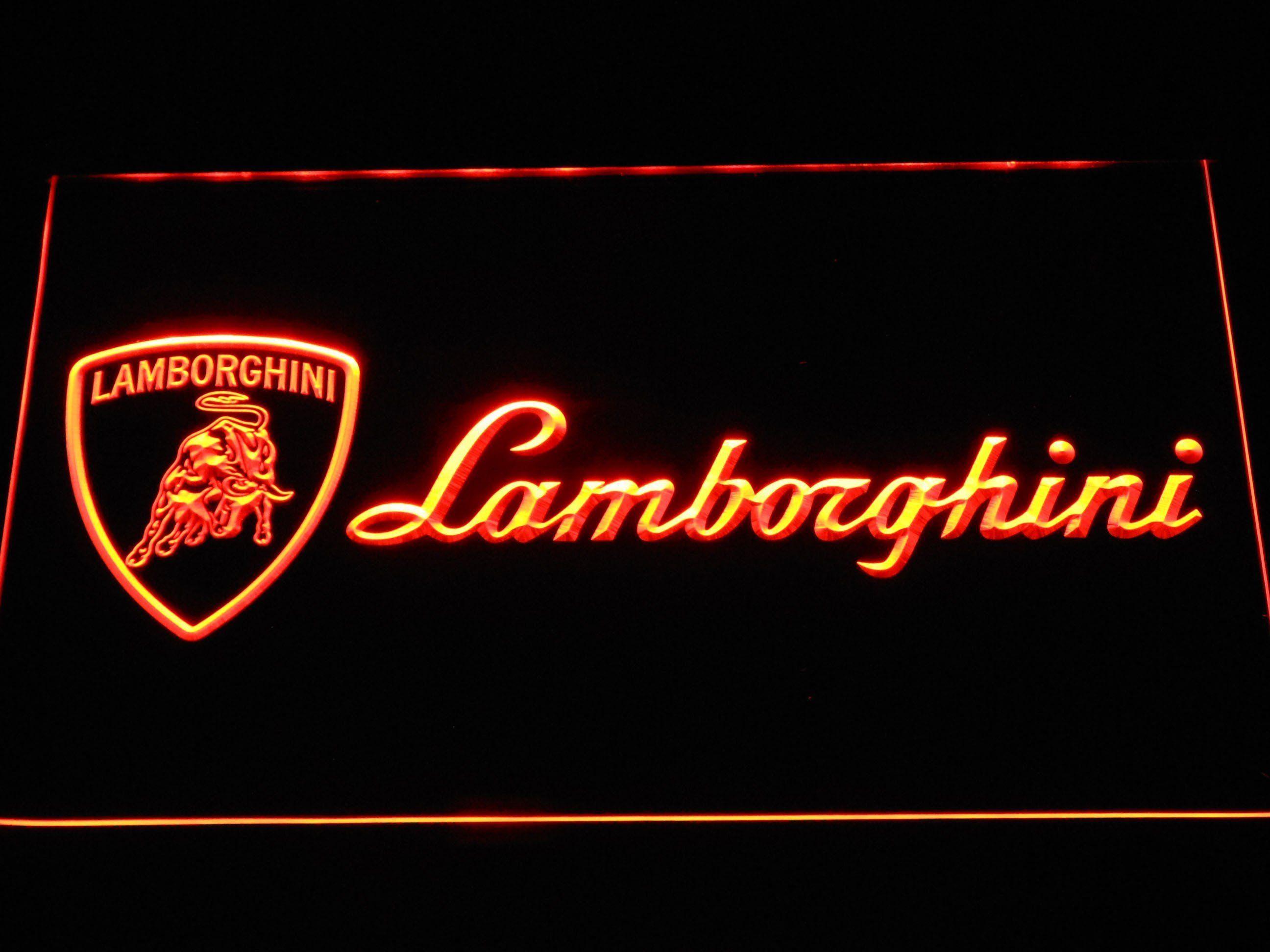 Lamborghini LED Neon Sign Lamborghini Pinterest