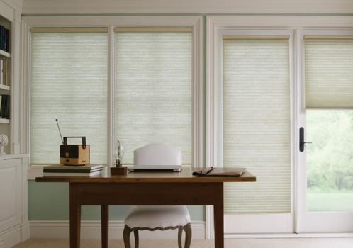 Cellular Shades Gently Filter Light And Allow Just The