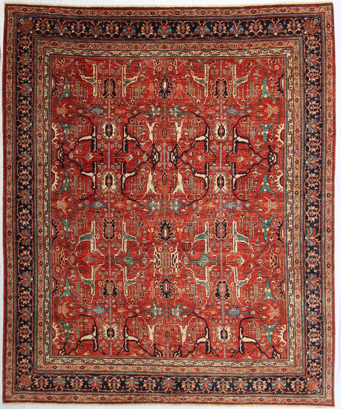 New Hand Knotted Antique Recreation From Afghanistan 19th