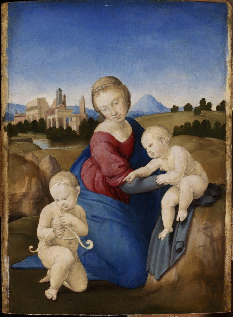 Raffaello Madonna Esterhazy 1508 Museo Delle Belle Arti Budapest RaffaelloItalian Renaissance