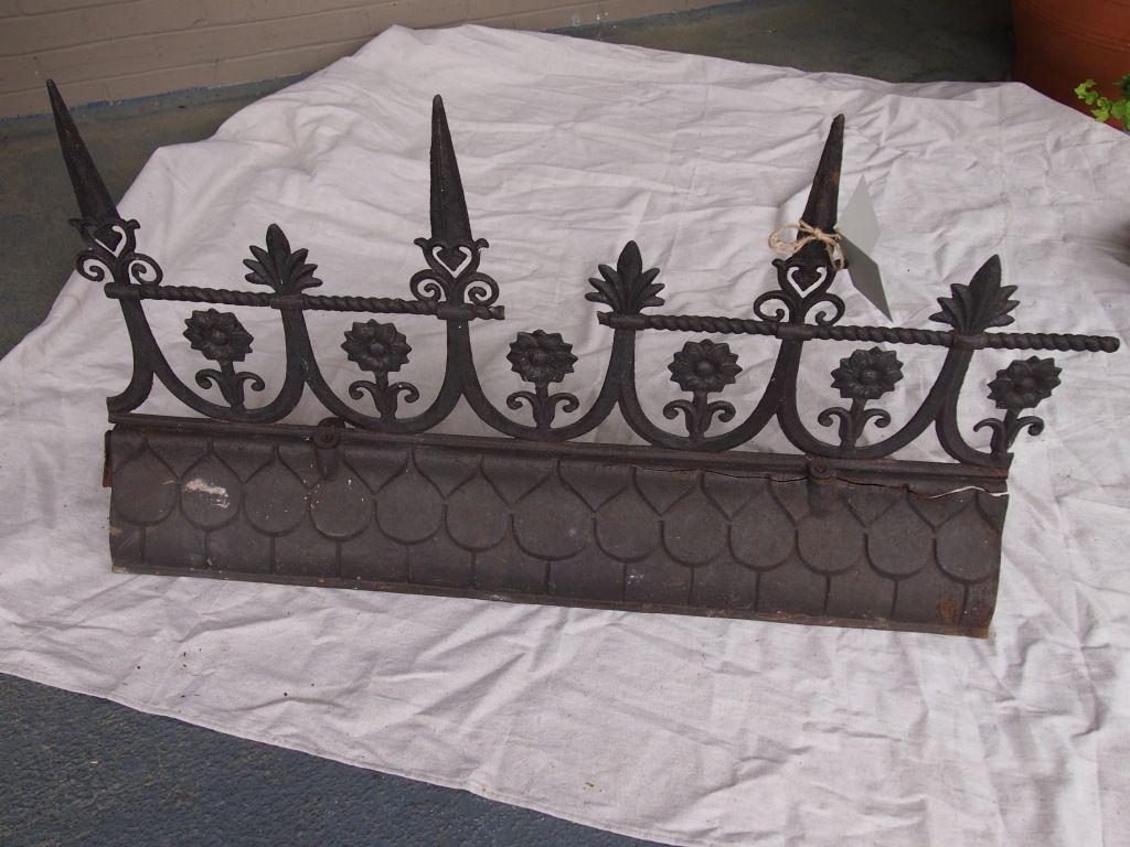 19th Century French Iron Roof Ridge 1stdibs Com Rattan Furniture Makeover Vintage Rattan Furniture Retro Furniture Makeover