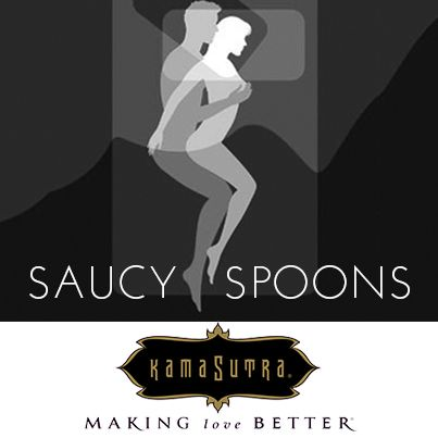 Saucy spoons sex position