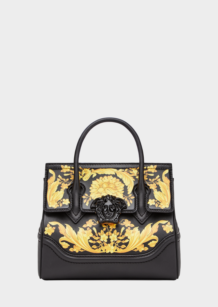 1b0568d51d07 Barocco Palazzo Empire Bag from Versace Women s Collection. This iconic  Palazzo Empire bag features the classic Medusa icon closure and includes ...