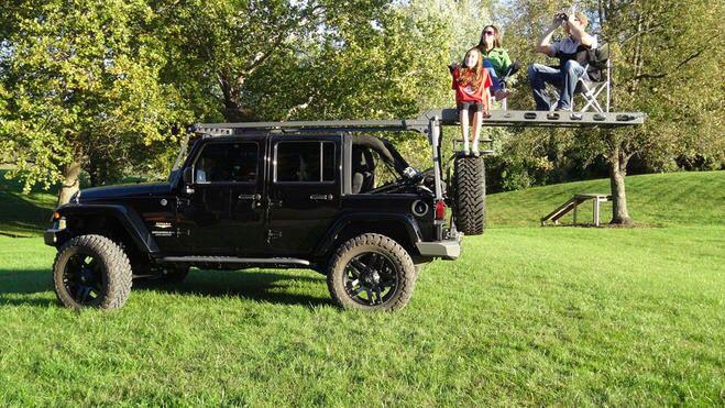 Lod Roof Rack For Jeep Wrangler Jk 2 Door Version Is In Development Jeep Wrangler Accessories Wrangler Jk Purple Jeep Wrangler