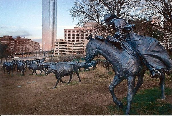 Pioneer Plaza | Pioneer plaza, Dallas attractions, Dallas travel
