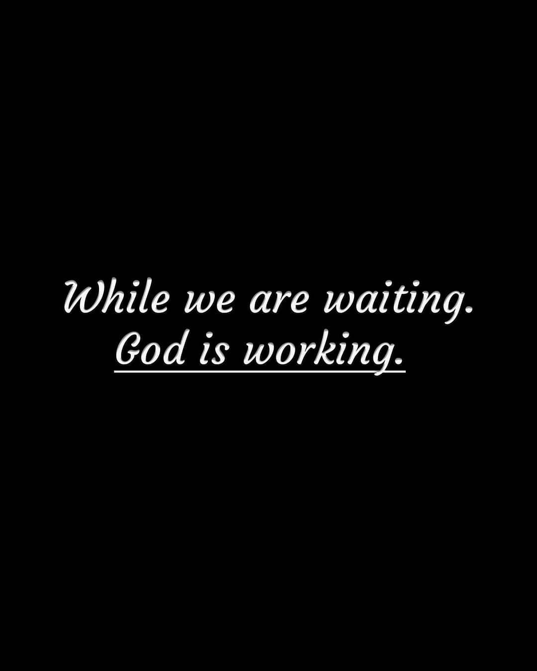 He is working for us