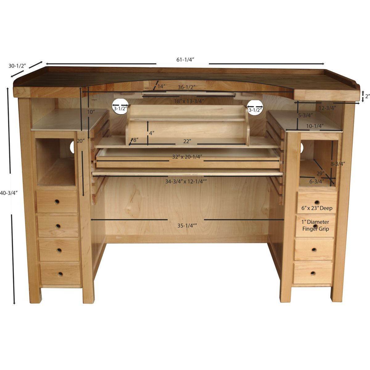 Swell Maple Otto Frei Stone Setters Jewelers Workbench In 2019 Cjindustries Chair Design For Home Cjindustriesco