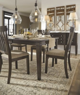 Alexee 5 Piece Dining Room by Ashley HomeStore Brown
