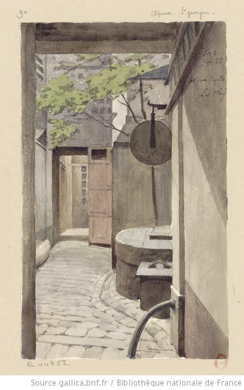 6 et 8 Juin 83 - 60 rue Pigalle : [dessin] / L. Ottin - 1