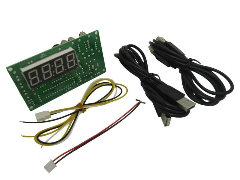 jy 18a coin operated usb time control timer board power supply for coin acceptor selector