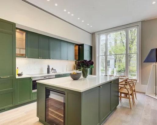 26 Green Kitchen Cabinet Ideas Kitchen Design Green Kitchen Cabinets Modern Kitchen Design