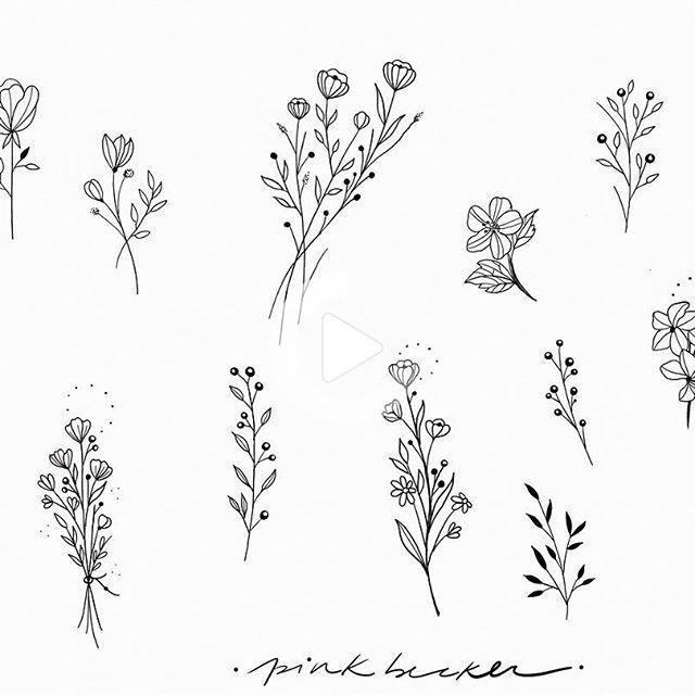 Pink Becker (@pinkbecker) profile on Instagram • 1,152 posts -   12 plants Pattern tattoo ideas
