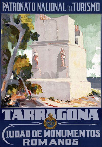 Vintage Santander Spain Tourism Poster  A3 Print
