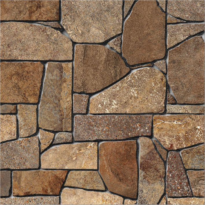 Piso piedra indie tierra 45x45 casa interiores pisos for Pisos para patios interiores