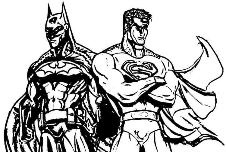 Batman And Superman Coloring Pages Batman Coloring Pages Superman Coloring Pages Lego Movie Coloring Pages