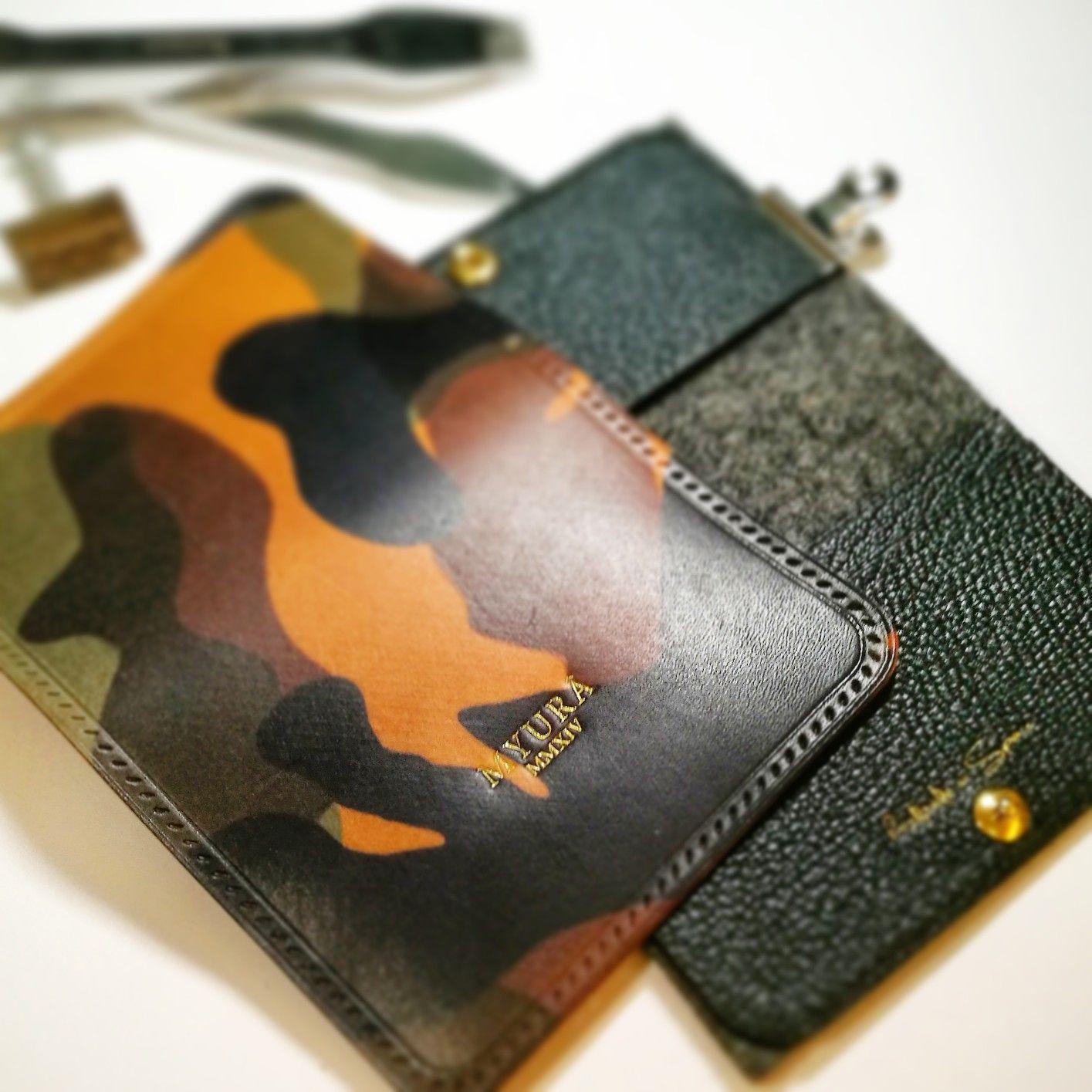 "Myura ""JUEX Revêtu"" card pouch. Card pouch, Leather, Pouch"