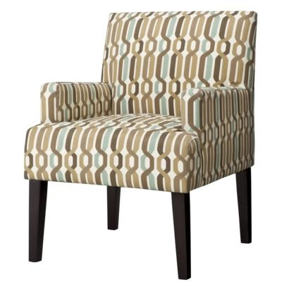 Dolce Upholstered Accent Arm Chair - Twist Bark Geometric (Target $200)