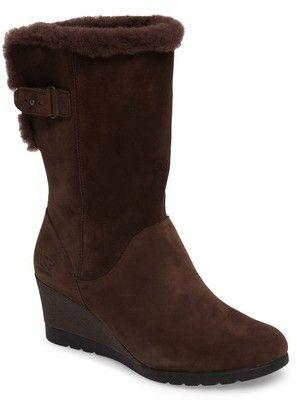 368d78507373 Women s Ugg Edelina Waterproof Wedge Boot
