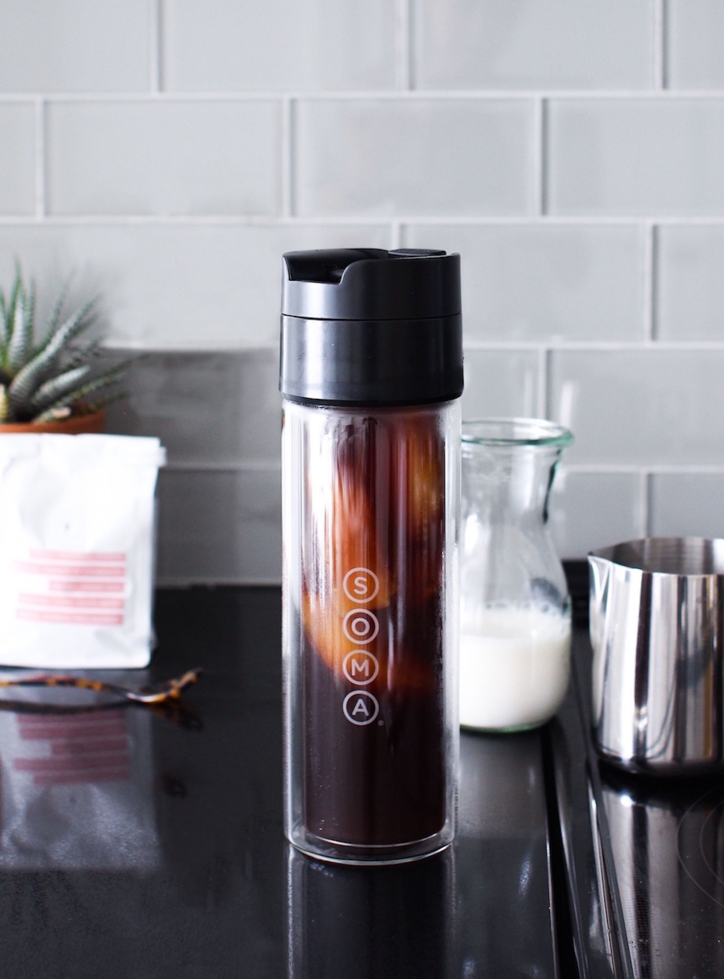 A Shop Guide To Making Iced-Coffee At Home (& Saving $$) #espressoathome A Shopping Guide For Making Iced-Coffee At Home (& Saving $$) #refinery29 #espressoathome