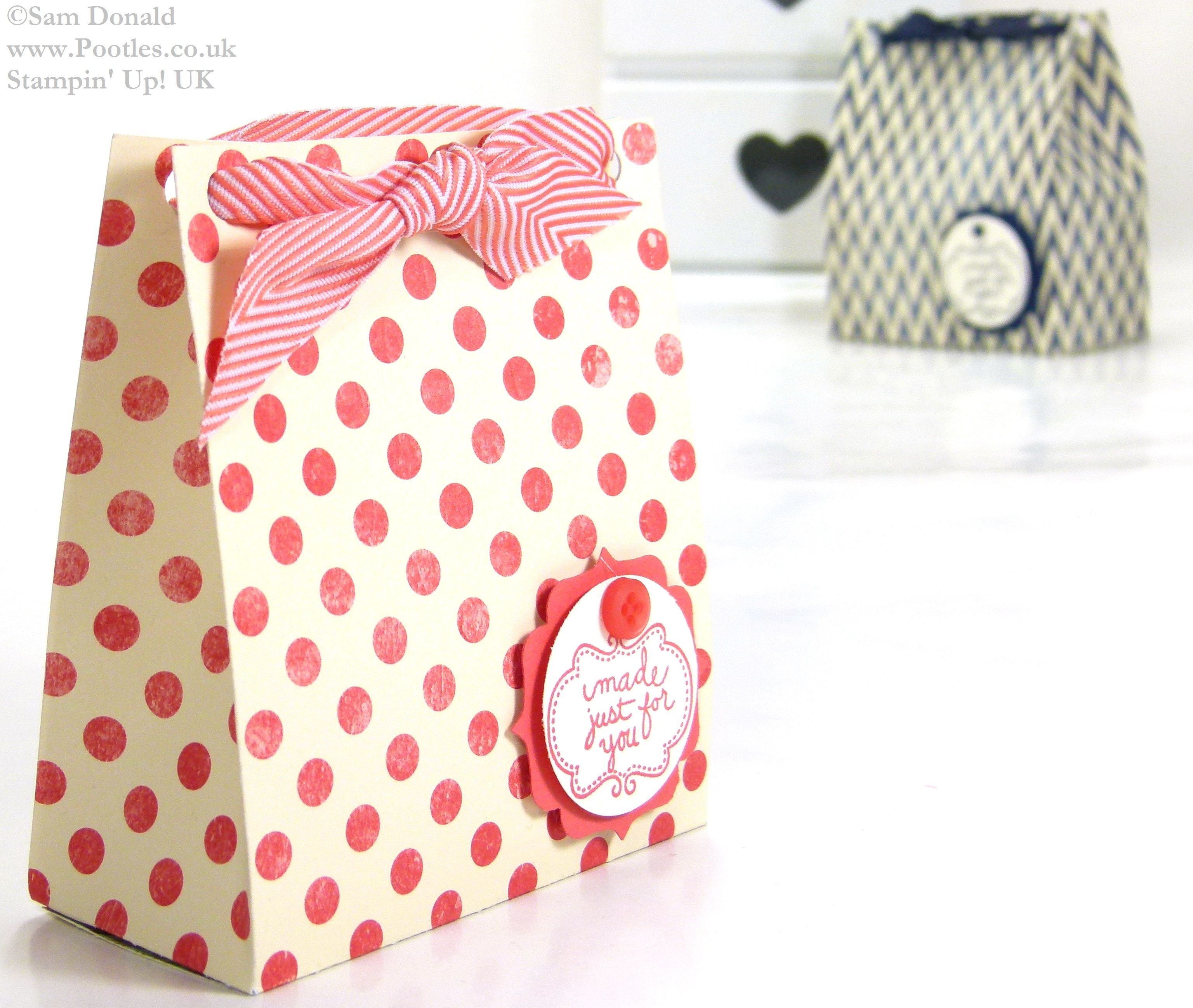 Soap Gift Treat Bag Tutorial