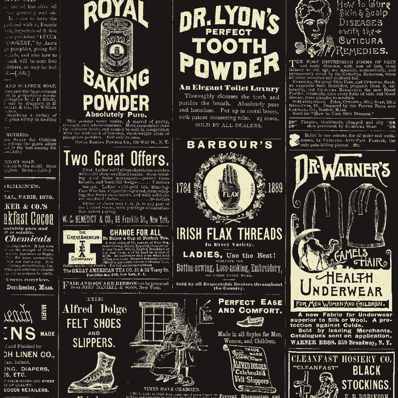 How to scrapbook newspaper -  Free Vintage Digital Stamps Free Digital Scrapbook Paper Vintage Ads