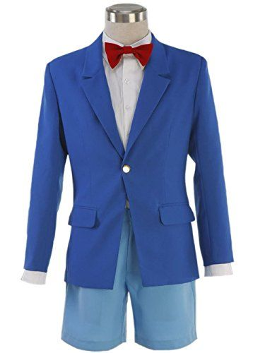 Detective Conan Magic Kaito Kid Cosplay Anime Mens White Suit Outfit Costume