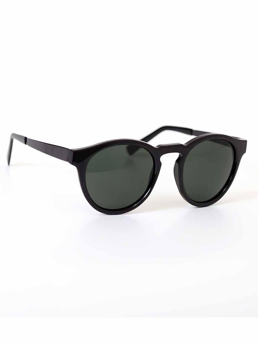 Oculos De Sol Preto Oculos De Sol Preto Haste E Frontal Em