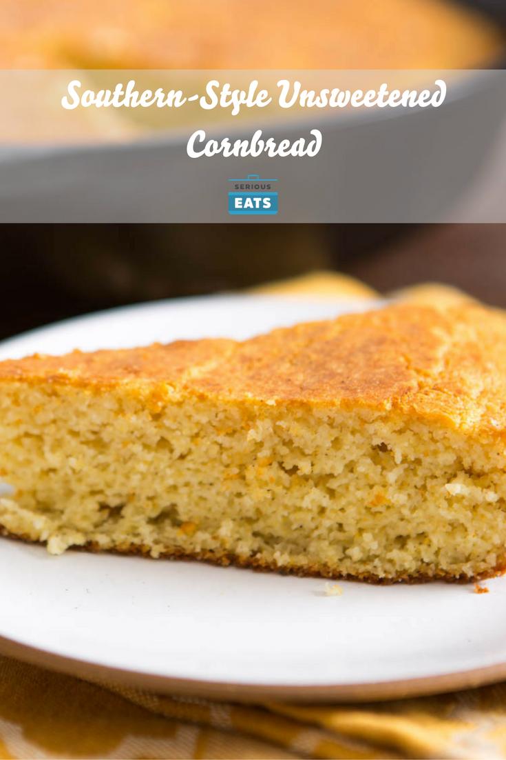 Southern Style Unsweetened Cornbread Recipe Recipe Corn Bread Recipe Unsweetened Cornbread Recipe Recipes