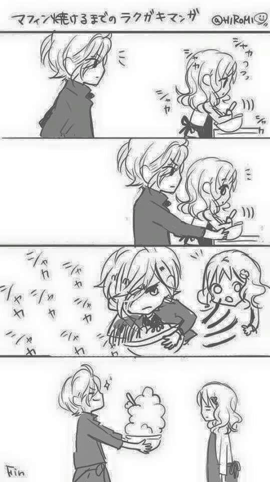 Oh Subaru Kun Cute Comic Diabolik Lovers Anime
