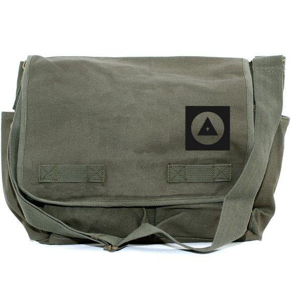 Messenger Bag Bauhaus Eye  Large Bag for Men & by mediumcontrol, $46.00