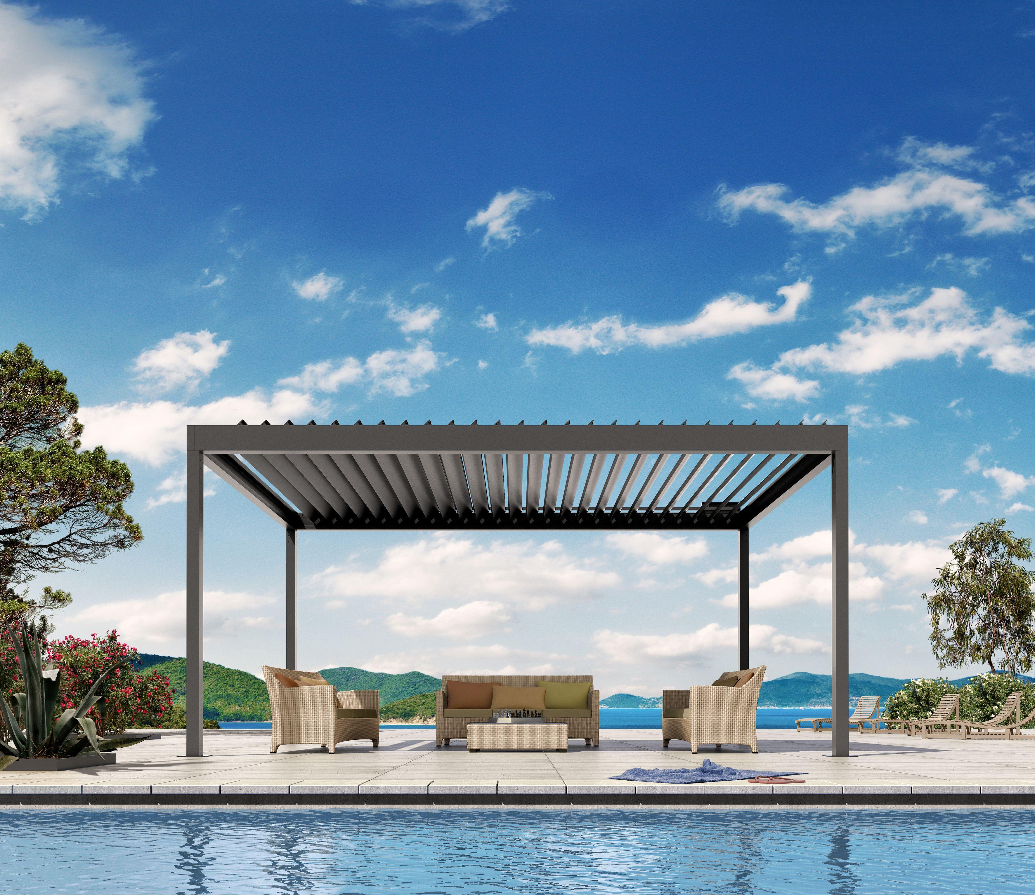 De nieuwe BAVONA outdoor living paviljoens bieden u van lente tot herfst levensruimtes dicht b ij de natuur op het terras of in de tuin
