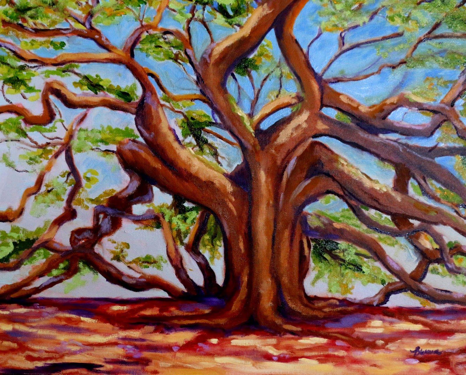 "Burma Cardwell Art Gallery: ""Angel Oak"" Johns Island, SC"