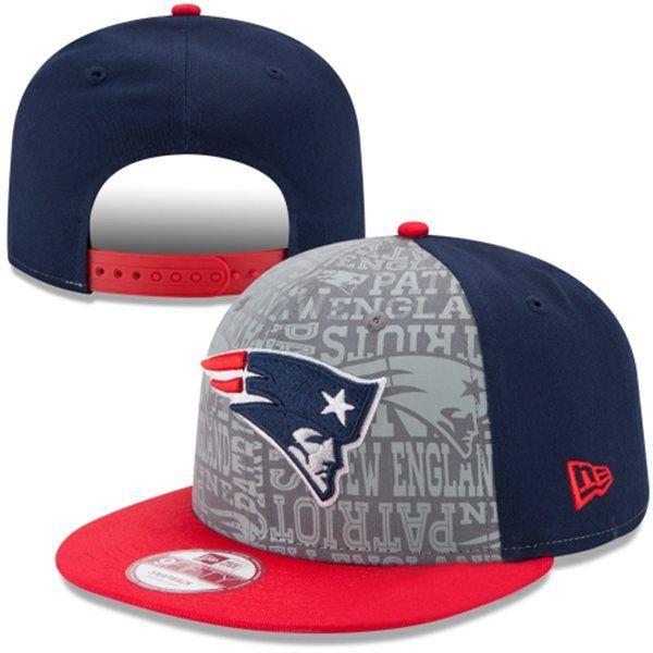 0e8d234580170 Top  NFL New England  Patriots Snapback  Hat Grey Blue