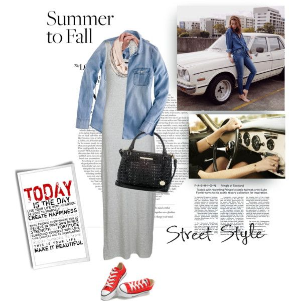 """""""Summer to Fall Maxi"""" by youaresofashion on Polyvore"""
