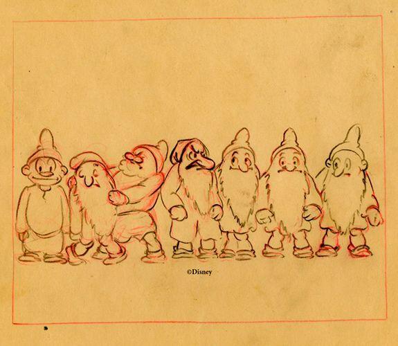 7 dwarfs sketch
