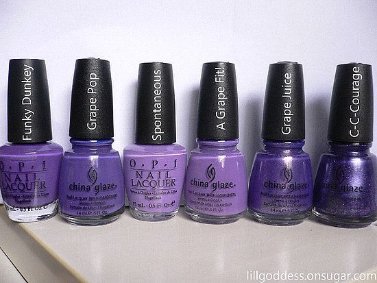 shades of purple   Nail Envy   Pinterest   Purple, Purple nail ...