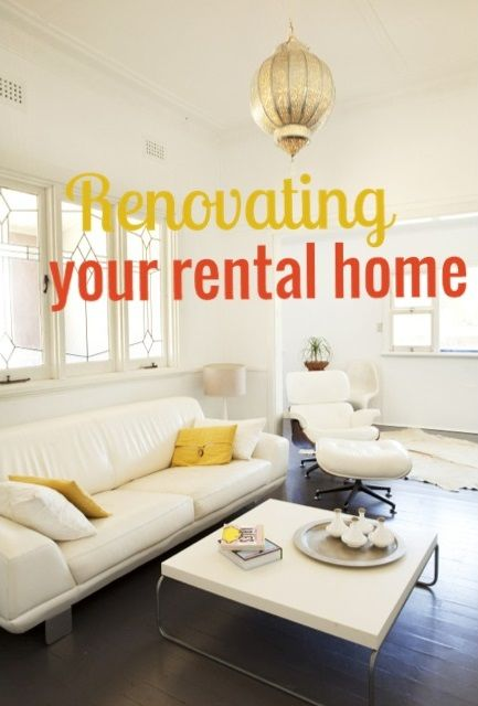Tips For Tenants From An Interior Designer Rental Home Decor Home