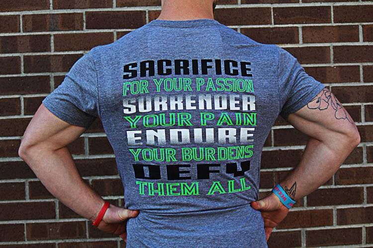 Sacrifice, surrender, endure, defy.   www.jekyllhydeapparel.com