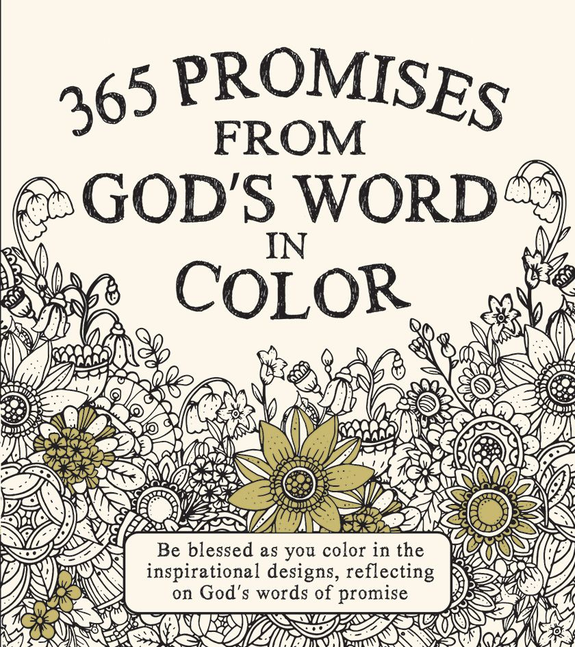 Coloring pages 365 - Coloring Book 365 Promises From God S Word In Color
