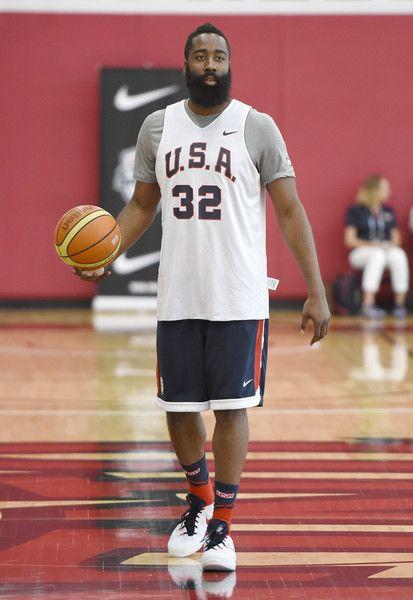 d8f40bdd972 James Harden Photos - USA Basketball Men s National Team Training Camp -  Zimbio